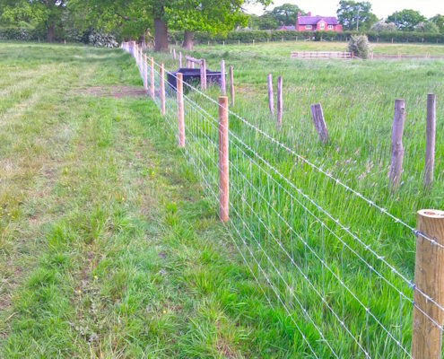 Stockdale Fencing | Wire Fencing and Gates | Calverhall Field