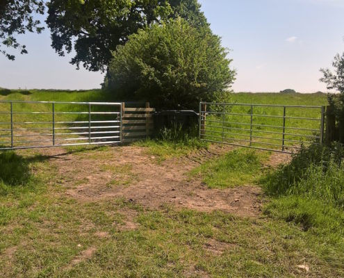 Stockdale Fencing | Fencing and Gates | Calverhall Field Corner