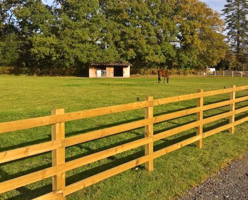 Stockdale Fencing | Wooden Fencing | Equestrian Fencing