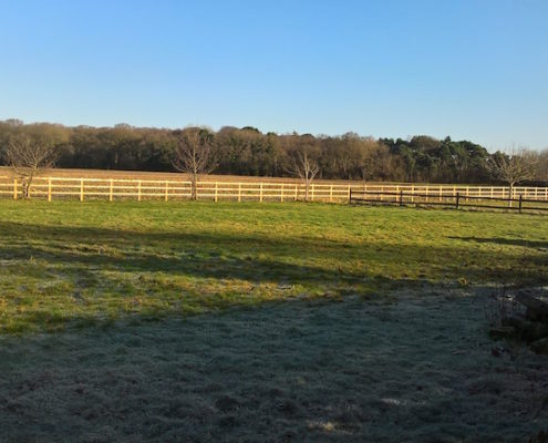 Stockdale Fencing | Post and Rail Wooden Fencing | Over Peover