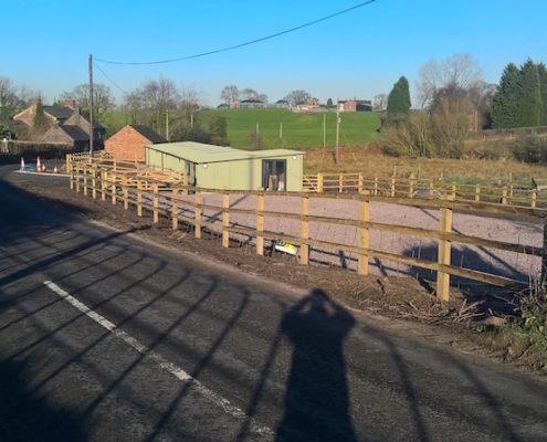 Stockdale Fencing | Wooden Fencing | Roadside Fence