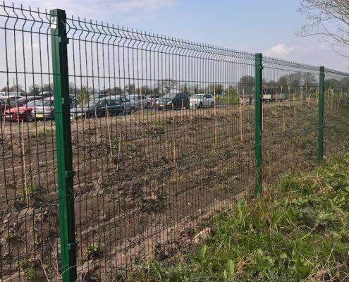 Stockdale Fencing | Security Fencing | Car Park