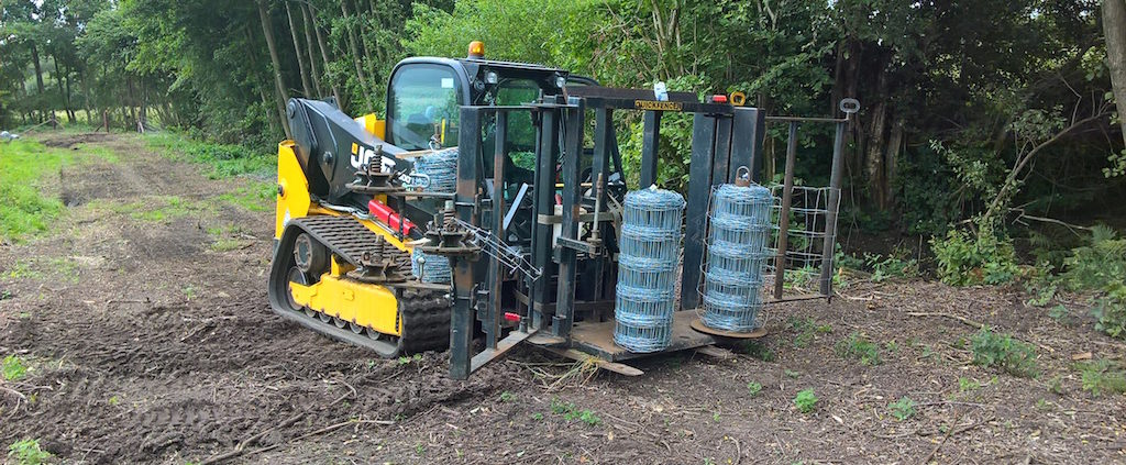 Stockdale Fencing | Fencing Low pressure ground working | Machinery