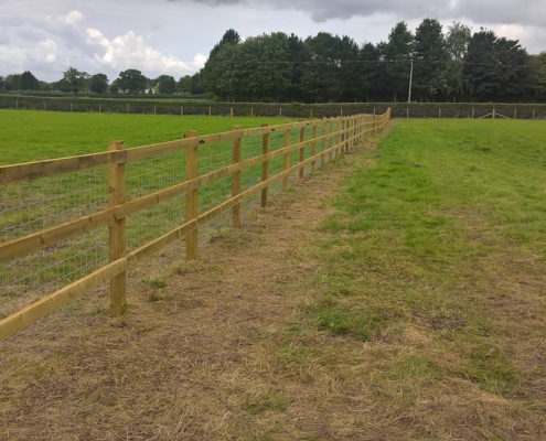 Stockdale Fencing | Wooden Fencing | Field Fence