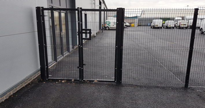 Stockdale Fencing | Industrial Fencing | Gate