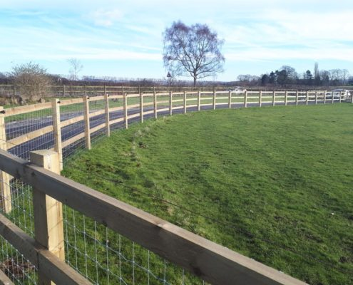 Stockdale Fencing | Wooden and Netting Fencing | Fences