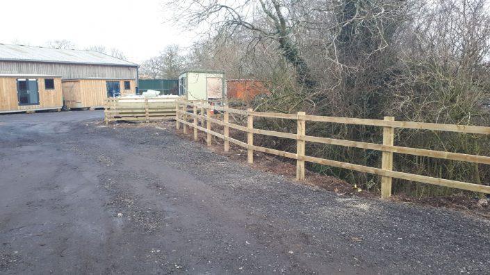 Stockdale Fencing | Wooden Livestock Fencing | Fences
