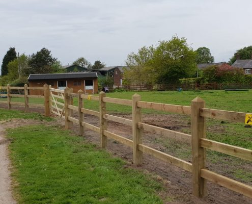 Stockdale Fencing | Newt Fencing | Wooden Fencing