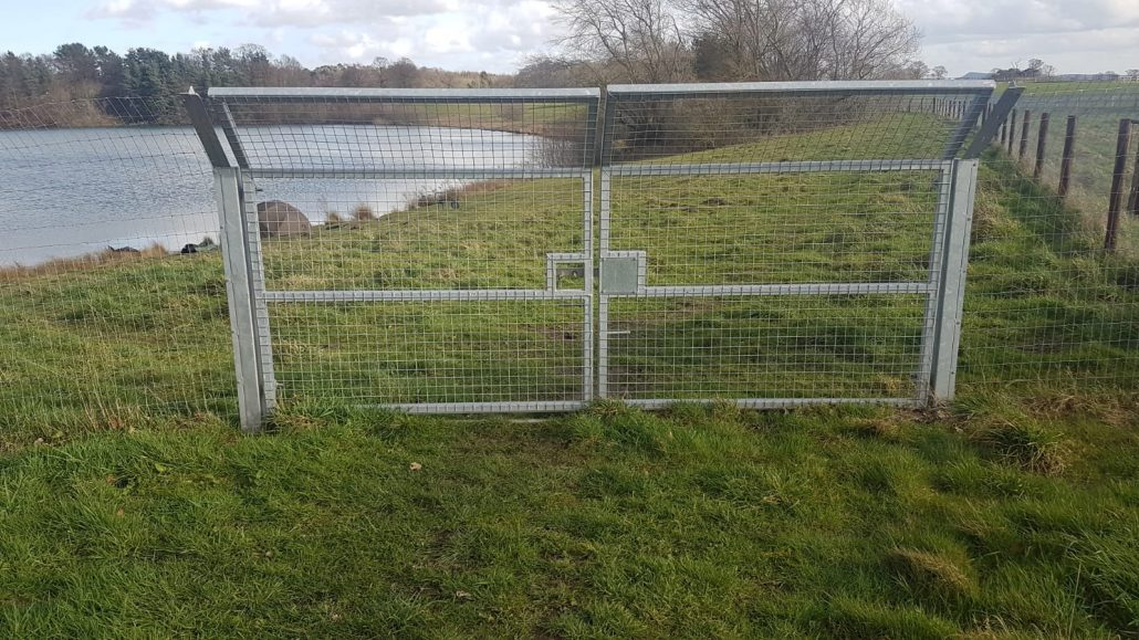 Stockdale Fencing | Metal Security Fencing | Gate
