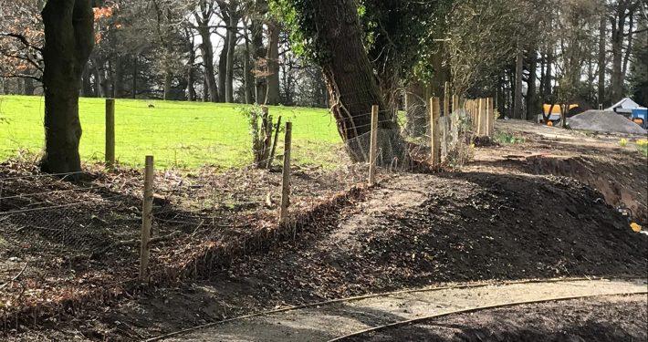 Stockdale Fencing | Fencing | Path
