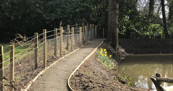 Stockdale Fencing | Security Fencing | Path