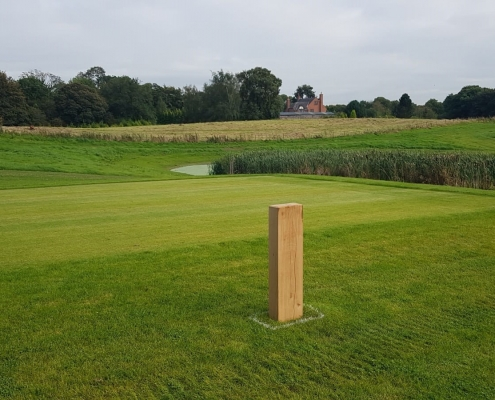 Stockdale Fencing | Post and Rail Fencing | Golf Course