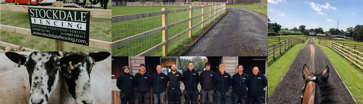 Stockdale Fencing | Post and Rail Fencing | Web Banner