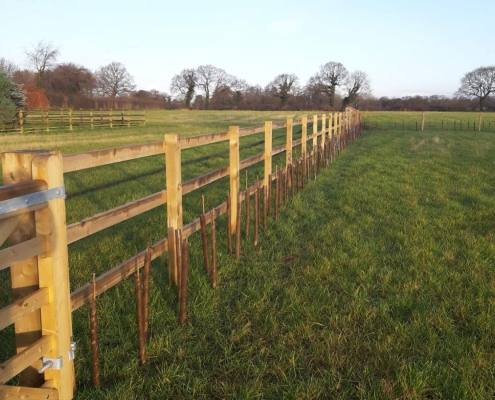 Stockdale Fencing | Wire Fencing | Post and Rail
